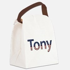 Tony Canvas Lunch Bag