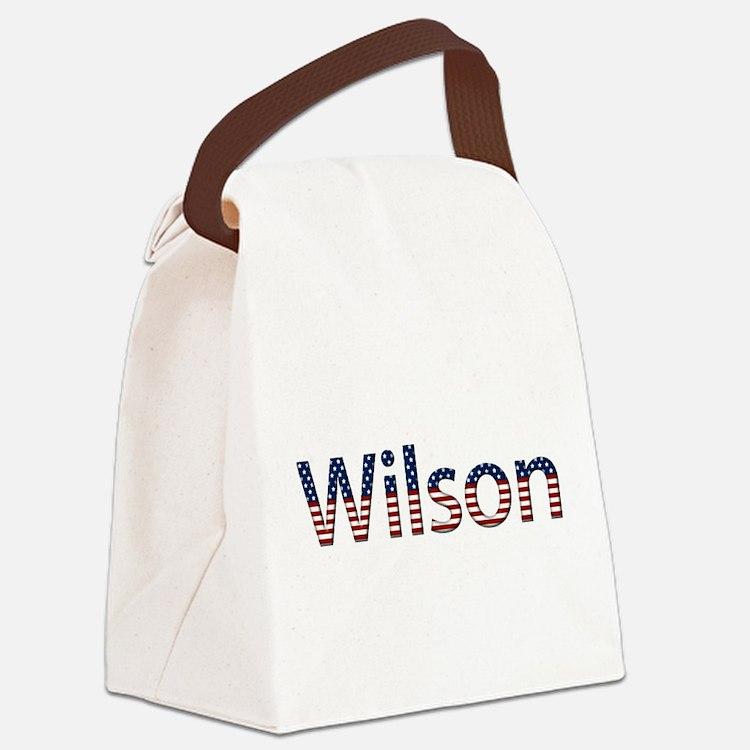 Wilson Canvas Lunch Bag