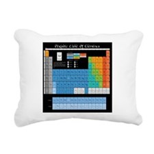 Periodic Table Of Elemen Rectangular Canvas Pillow