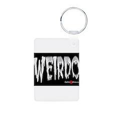 Weirdo Sticker Keychains