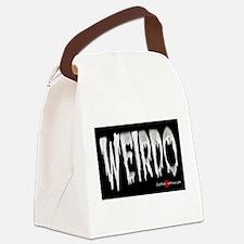 Weirdo Sticker Canvas Lunch Bag