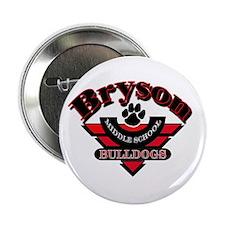 "Bryson MS Bulldogs 2.25"" Button (10 pack)"