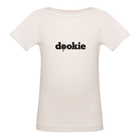 Dookie Splash Grey Organic Baby T-Shirt