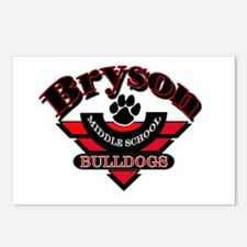 Bryson MS Bulldogs Postcards (Package of 8)