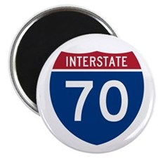 "Interstate 70 2.25"" Magnet (100 pack)"