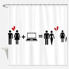 Cheater Shower Curtain
