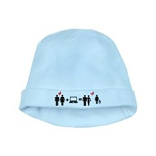 Cheater baby hat