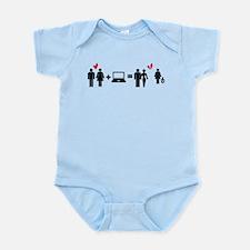 Cheater Infant Bodysuit