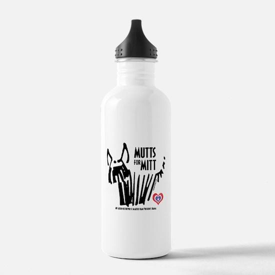 Golden Retriever Mutts for Mitts Water Bottle