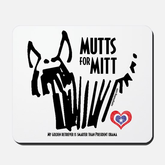 Golden Retriever Mutts for Mitts Mousepad
