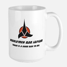 Klingon Proverb Large Mug