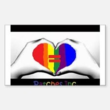 Same Sex Marriage Supporter Logo Decal