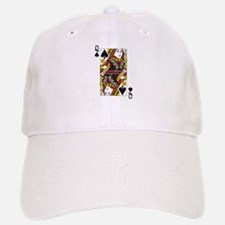Queen of Spades Baseball Baseball Cap