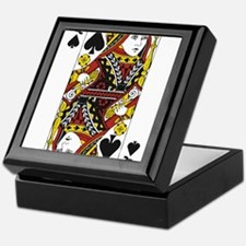 Queen of Spades Keepsake Box