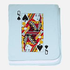 Queen of Spades baby blanket