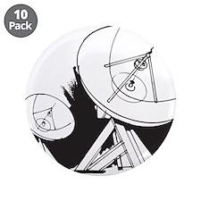 "Satellites 3.5"" Button (10 pack)"