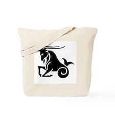 Capricorn - Goat/Fish Tote Bag
