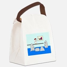 Corporate Nightmare Canvas Lunch Bag