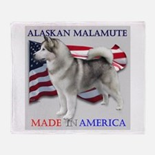 Made in America Throw Blanket