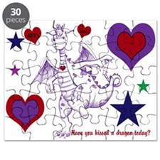 Have You Kissed a dragon? Childrens Fun Puzzle