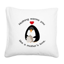Mother's Love Square Canvas Pillow