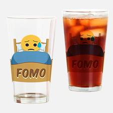 Emoji Sad FOMO Drinking Glass