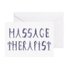 Massage Therapist Greeting Card