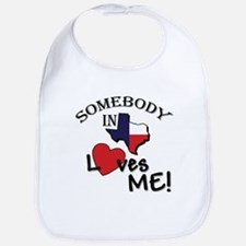 somebody loves.psd Baby Bib
