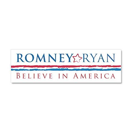 Romney-Ryan Car Magnet 10 x 3