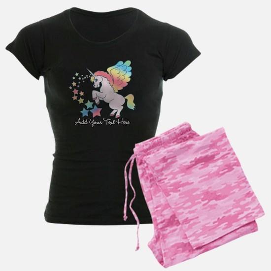 Unicorn Rainbow Star pajamas