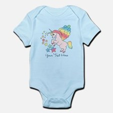 Unicorn Rainbow Star Infant Bodysuit