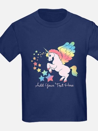 Unicorn Rainbow Star T