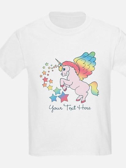 Unicorn Rainbow Star T-Shirt