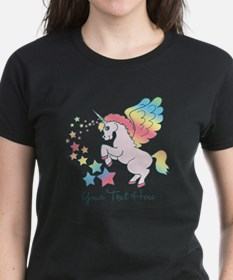 Unicorn Rainbow Star Tee