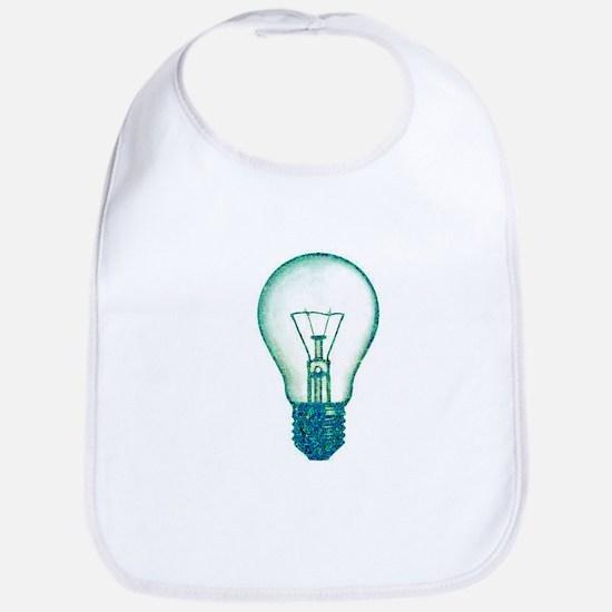 light bulb lamp pixel Bib
