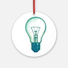 light bulb lamp pixel Ornament (Round)