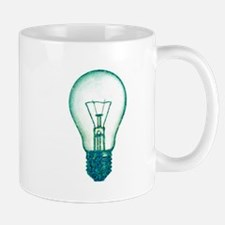 light bulb lamp pixel Mug