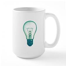 light bulb lamp pixel Mug