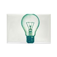 light bulb lamp pixel Rectangle Magnet