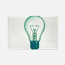 light bulb lamp pixel Rectangle Magnet