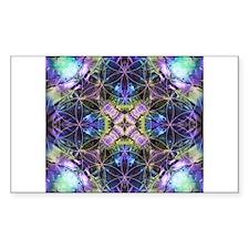 Flower of Life Mandala Stickers