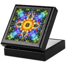 Flower of Life Mandala Keepsake Box
