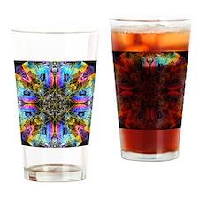 Flower of Life Mandala Drinking Glass