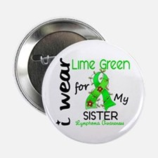 """I Wear Lime 43 Lymphoma 2.25"""" Button (10 pack)"""
