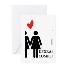 Upgrade Complete Greeting Card