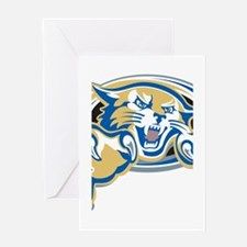 Wildcat Greeting Card