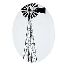 Windmill Ornament (Oval)