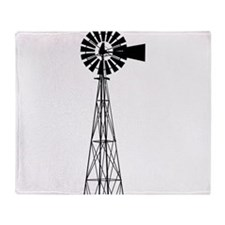 Windmill Throw Blanket
