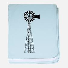 Windmill baby blanket