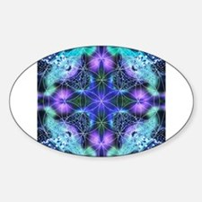 Flower of Life Mandala Stickers